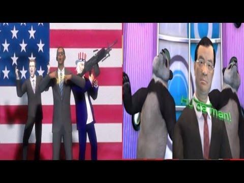 US-Sino Currency Rap Battle