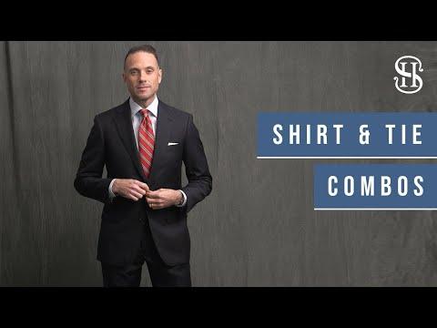 10 Navy Suit Shirt And Tie Combinations | Men's Wardrobe Essentials