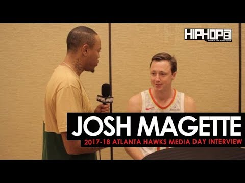 Josh Magette Talks His NBA Journey, 2017-18 Hawks & More (Atlanta Hawks Media Day with HHS1987)