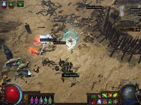 Path of Exile 2018 barrage fps drop on 800x600