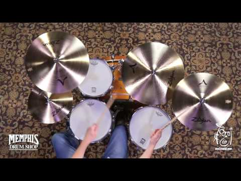 Zildjian A Rock Pack Cymbal Box Set (A0801R-1051017E)