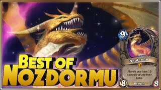 Hearthstone - Best of Nozdormu - Just in time!! - Funny and lucky Rng Moments