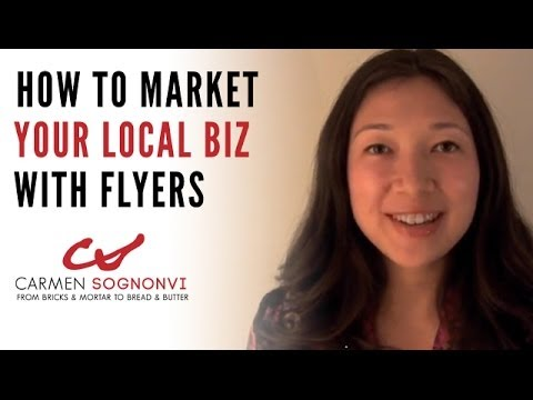 How to Make Flyers for Business - And Tips to Boost Response | Carmen Sognonvi