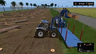 Farming simulator 17 - Lost islands timelapse ep#21