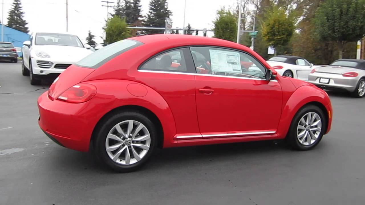 2017 Volkswagen Beetle Tornado Red Stock 109591
