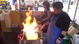 Asian Street Food: Pad Thai, Noodles & Cashew Nut Chicken Stir Fry at Khon Thai Swiss Cottage London