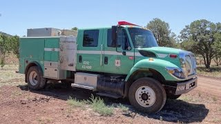 2 Arizona Kaibab National Forest USFS fire trucks - pictures [AZ | 6/2015]