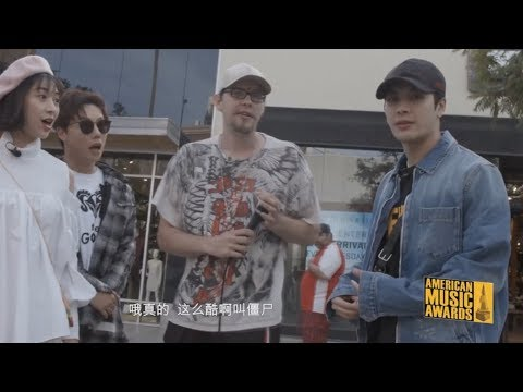 Jackson Wang Meets Zom-B & Beat Rhino Beatboxing In Santa Monica California