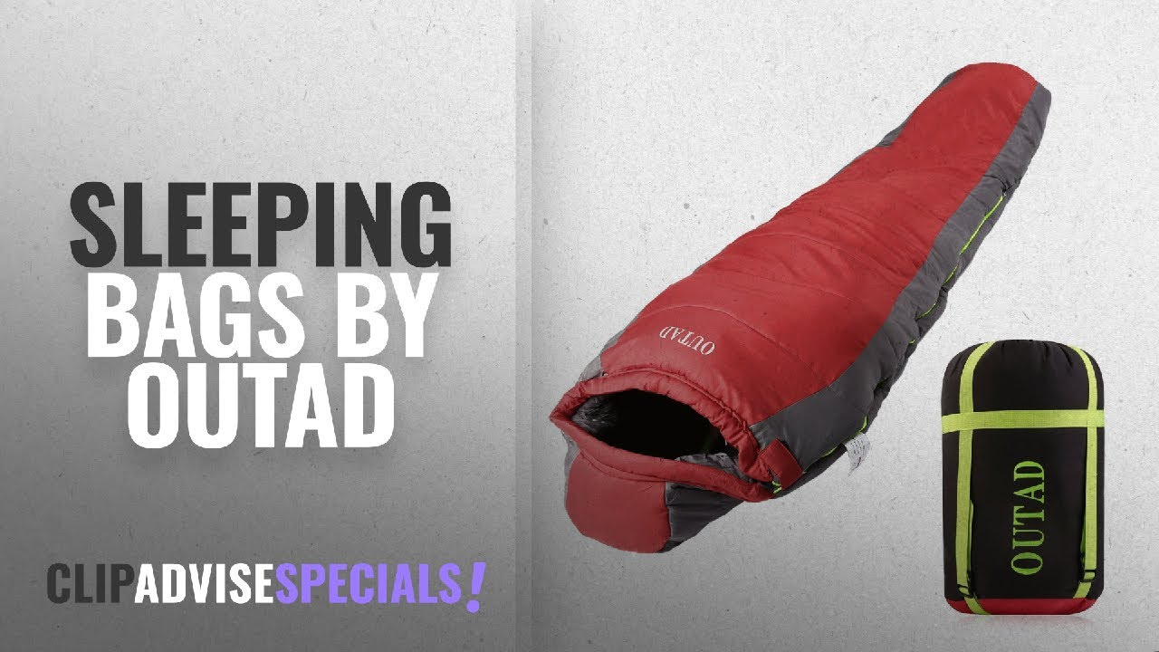 Top 5 Outad Sleeping Bags 2018 Lightweight Down Bag Ultralight Mummy With