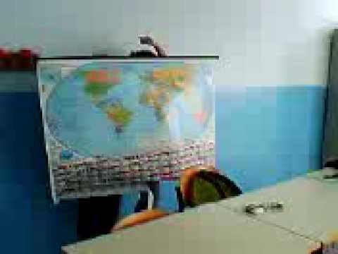La cartina geografica vivente