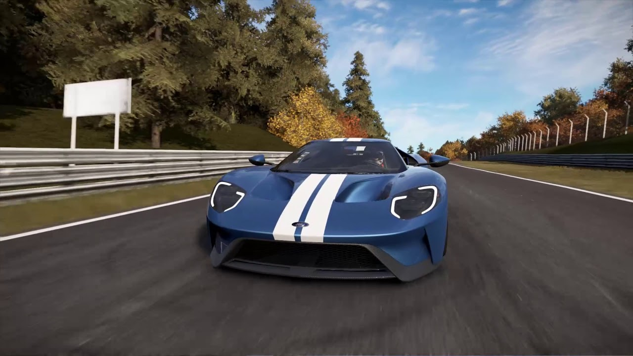 Project Cars  Ford Gt Nurburgring
