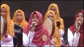 PP SUNAN PANDANARAN Putri (No.4) - Festival Hadroh MPI Fair UIN Suka 2017