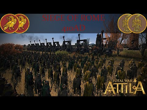 SIEGE OF ROME 410AD! Medieval Kingdoms 1212AD (EPIC BATTLE SERIES)