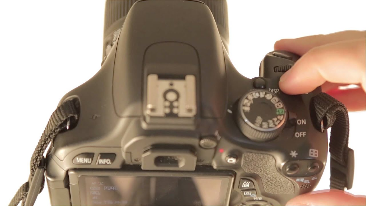 how to switch to manual exposure to adjust iso in video mode on a rh youtube com Canon T3i Sale Canon T4i