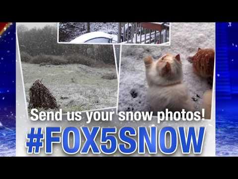 #FOX5Snow - Snow pictures 1