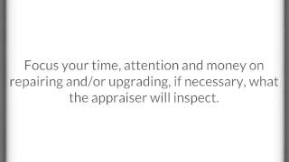 5 Things A Home Appraiser Looks For
