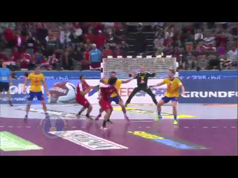 120 km/h handball shot from Aly Mohamed
