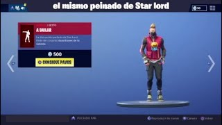 Fortnite* all my skins dancing as a star lord