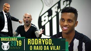 SAMPAOLI OU ZIDANE? - EXCLUSIVA COM RODRYGO, O RAIO DO SANTOS