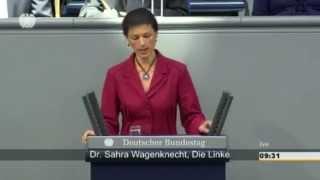 Сара Вагенкнехт вновь жжёт правдой Меркель