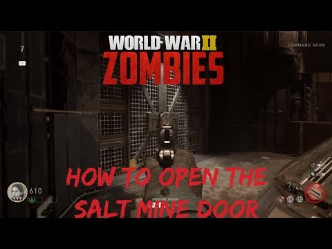 HOW TO OPEN THE SALT MINE DOOR / SALT MINE REROUTING POWER | THE FINAL REICH | CALL OF DUTY®: WWII