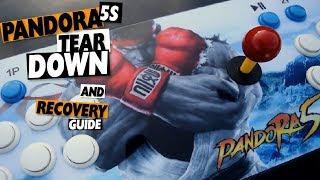 PANDORA'S Key 5S Teardown Tutorial: Buyers Recovery Guide - 1000 Games Arcade System