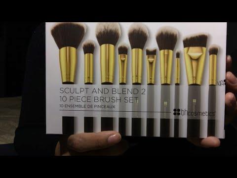 Asmr Makeup Brush Haul Bh Cosmetics 10 Piece Set
