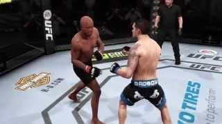 EA SPORTS UFC 2015 Anderson Silva vs Chris Weidman (PS4) #01 GamePlay Current Games No Commentary