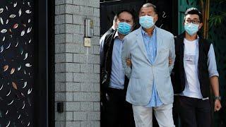 Hong Kong police arrest pro-democracy media tycoon