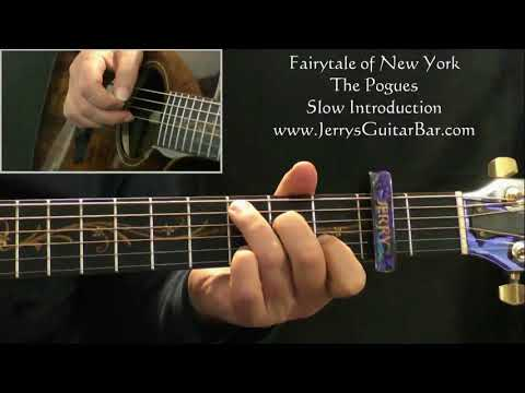 How To Play The Pogues Fairytale of New York (slow intro only)