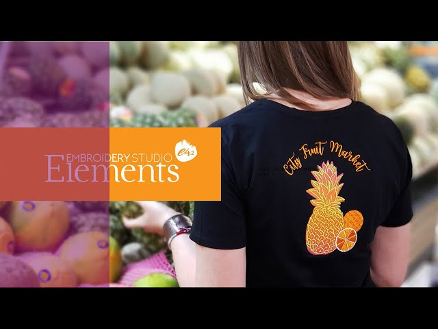 Cut your digitizing time in half with EmbroideryStudio Elements