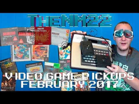 Video Game Pickups - Import Mania! and Videopac?! (February 2017) - TheNM22