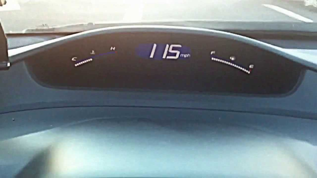 2010 Honda Civic Top Speed - YouTube