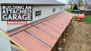 How to Build a Garage Addition 17:  Installing Zip Sheeting and Dewalt Nailer