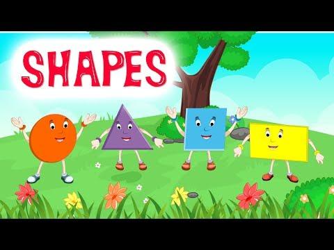 Shapes | Shapes Song | Shapes Rhymes | Shape Songs For Kids | Kidda Junction
