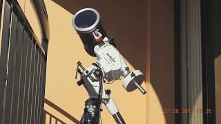 Flat Earth - Telescope Time Lapse is real evidence the Sun is not doing circles above a Flat Earth.