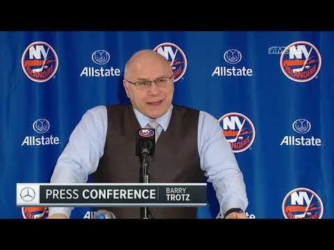 Barry Trotz: That Was a Big Point for Us | New York Islanders Post Game
