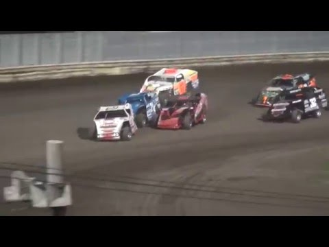 Modified feature Lee County Speedway 5/5/16