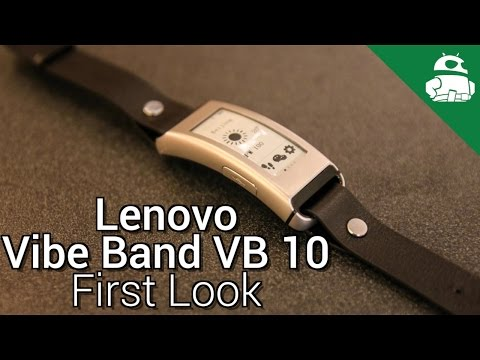 Lenovo Vibe Band VB 10 First Look