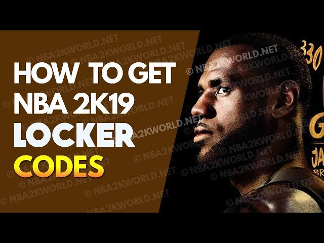 How to get NBA 2K19 Locker Codes for PS4 and Xbox One - YoutubeDownload pro