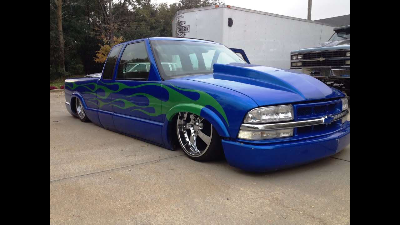 Retired 2000 Chevy S10 Show Truck Body Dropped Slammed