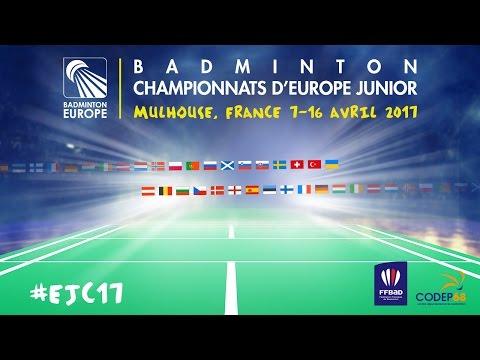 Russia (Alimov / Davletova) vs France (Gicquel / Delrue) - European Jnr. Team C'ships 2017