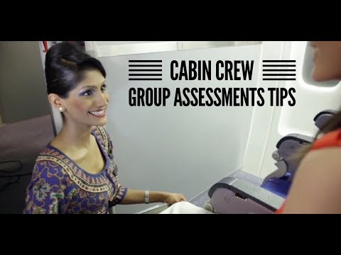 Cabin Crew/Flight Attendant Interview Group Assessment Tips