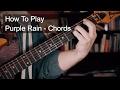 Purple Rain Chords - Prince Guitar Tutorial