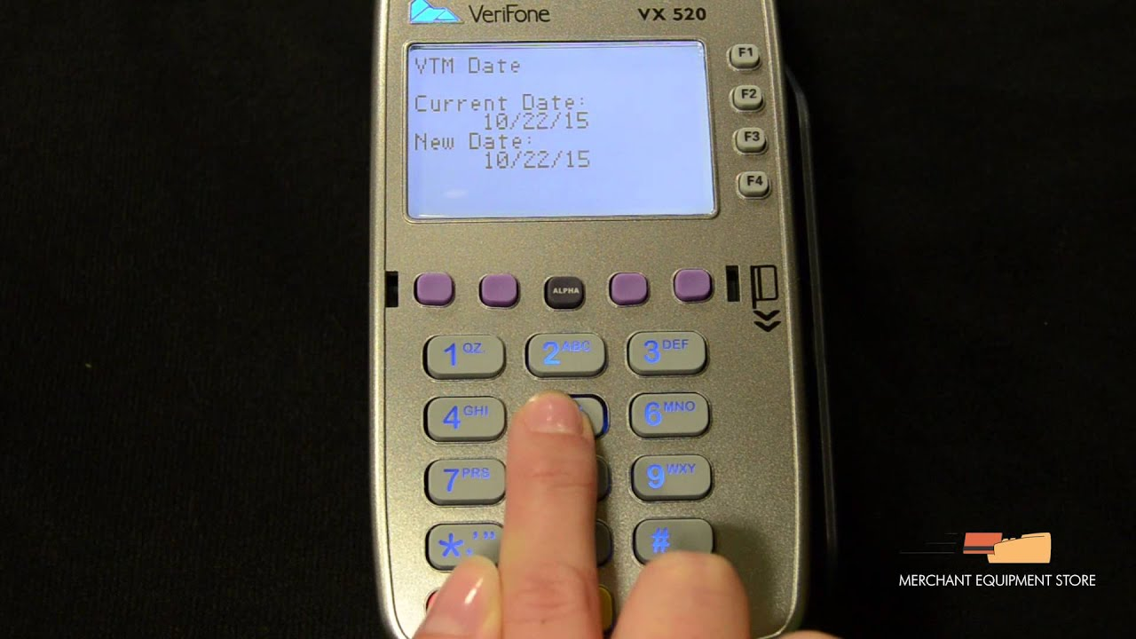Chase Verifone Vx680
