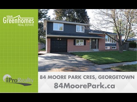 *SOLD* 84 Moore Park Cres - Georgetown ON