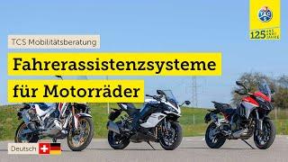 Motorrad-Fahrerassistenzsystem-Test (2021)| ABS für Kurvenfahrt, Totwinkel-Assistent, ACC...
