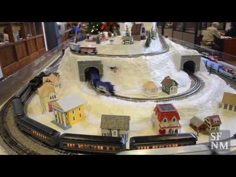Santa Fe model trains