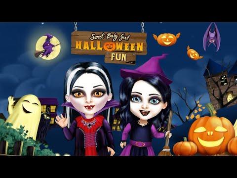 Sweet Baby Girl Halloween Fun 1
