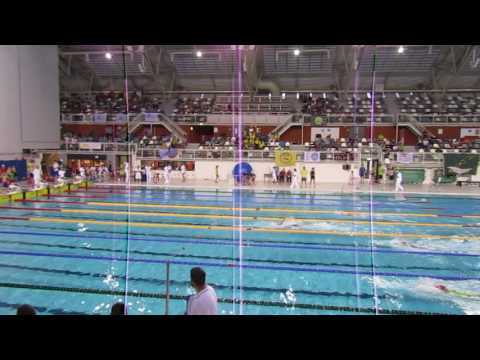 2017 Netherlands Invitational Eva Pet 100 Backstroke lane 4 Gold Seniors